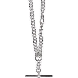 Sterling Silver Solid Curb Fob Chain - Karlen Designs