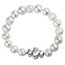 Freshwater Pearl Bracelet with Silver Clasp - Karlen Designs