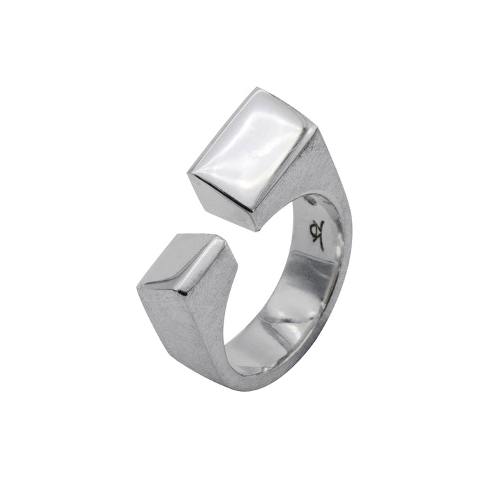 Sterling Silver Abstract Ring - Karlen Designs