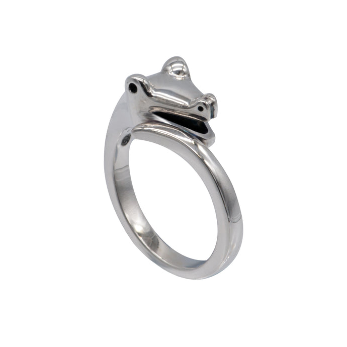 Sterling Silver Snake Ring - Karlen Designs
