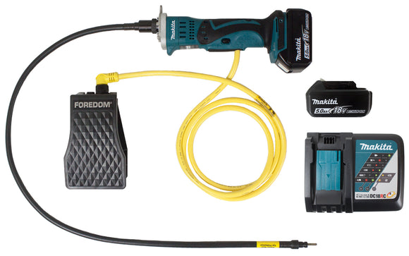 18 Volt Makita Motor with Flex Cable Drive Shaft