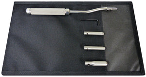12 Inch Long 1 Inch Offset Wolf Tooth Elevator Set