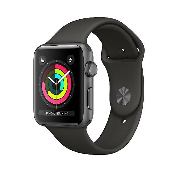 Apple Watch Series 3 38mm Space Grey Aluminium Case with Sport Band (Grey) MR352ZP/A