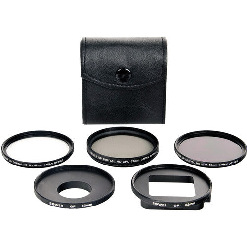 Bower 6 Piece Filter Kit for GoPro HERO3+/4