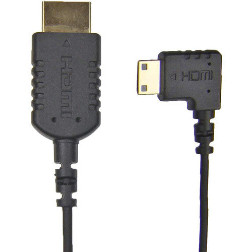 Camera Motion Research UFAR90C15 Right-Angle Mini-HDMI to HDMI Cable (15