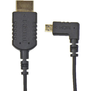 "Camera Motion Research UFAR90D15 Right-Angle Micro-HDMI to HDMI Cable (15"")"