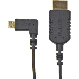"Camera Motion Research UFAR90D30 Right-Angle Micro-HDMI to HDMI Cable (31"")"