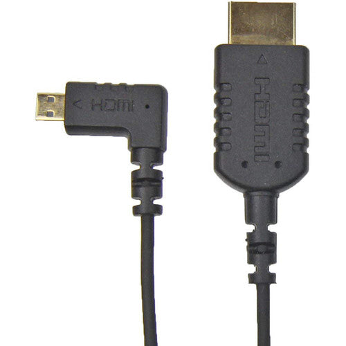 Camera Motion Research UFAR90D30 Right-Angle Micro-HDMI to HDMI Cable (31
