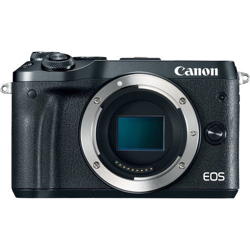 Canon EOS M6 Mirrorless Digital Camera (Body Only, Black)