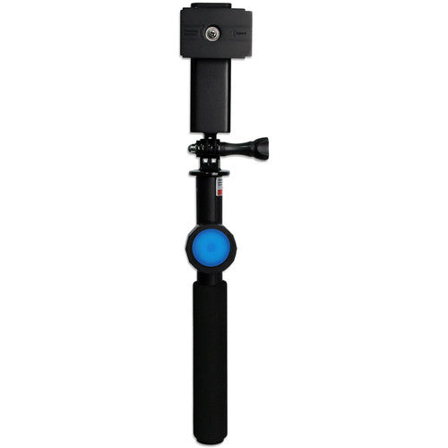 DiCAPac DP-1S Floating Selfie Stick with Bluetooth Remote Control for Smartphone or Camera