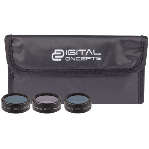 Digital Concepts ND Filter Kit for DJI Phantom 4 Pro (3-Pack)