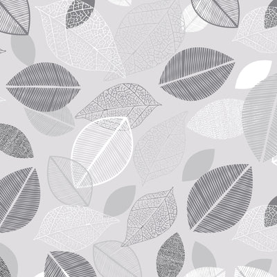 Grayscale Botanicals Micro Weave