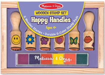 M&D STAMP SET HAPPY HANDLE
