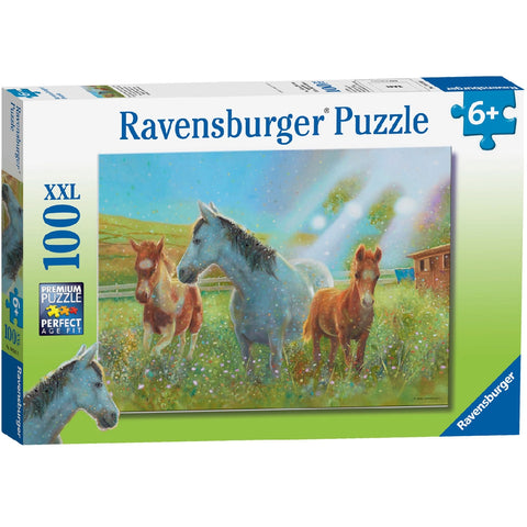 RAVENSBURGER Puzzle 100pc Equine Pasture