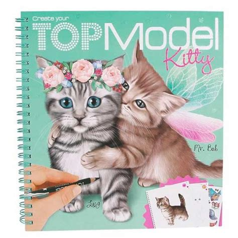 TOP MODEL COLOURING KITTY