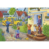 RAVENSBURGER Puzzle 2X24pc The Busy Post Office
