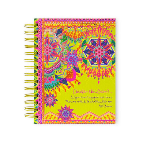 INTRINSIC NOTEBOOK SPIRAL KALEIDOSCOPE