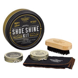 GENTLEMANS HARDWARE Travel Shoe Shine Tin