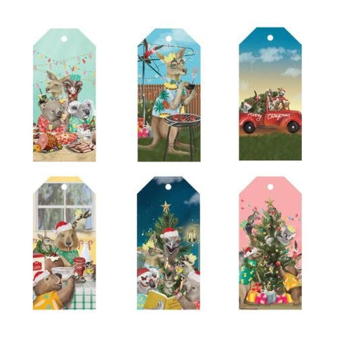 LaLaLand Gift Tags Festive Holiday
