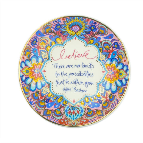 INTRINSIC TRINKET DISH BELIEVE