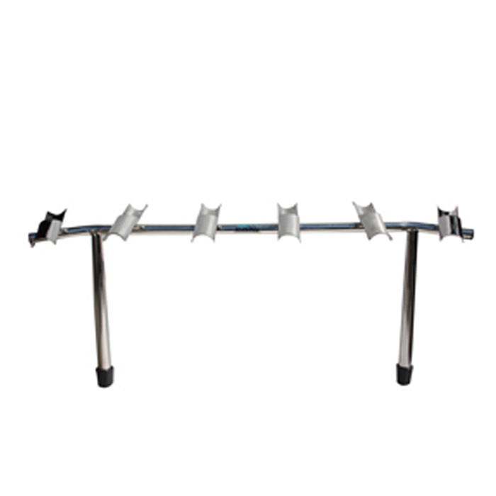 Haines Hunter, Viper Pro Series Half Tube 6 Way Stainless Steel Rod Rack