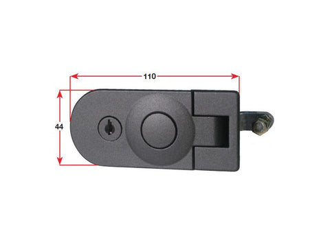 Catch Door Lever C/W Lock