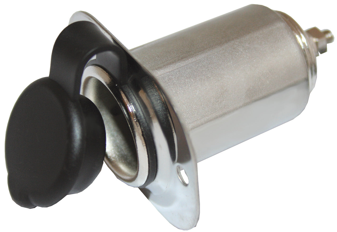 Power Socket - Stainless Steel
