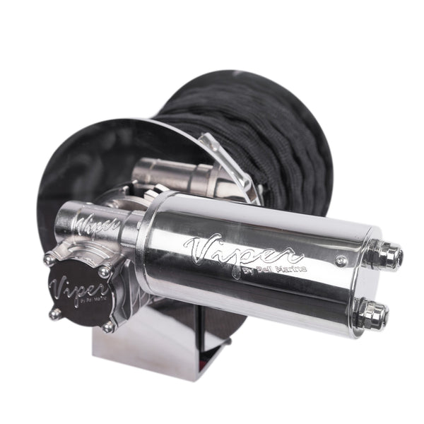 "Viper ""S"" Series RAPID 1000W All Stainless Winch Bundle Kit Inc 75m Rope and Chain"