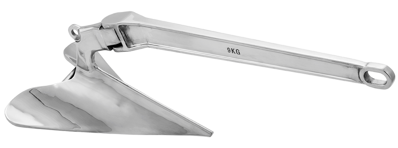 Stainless Steel Viper Pro Series Polished Plough Anchor - Multiple Variants