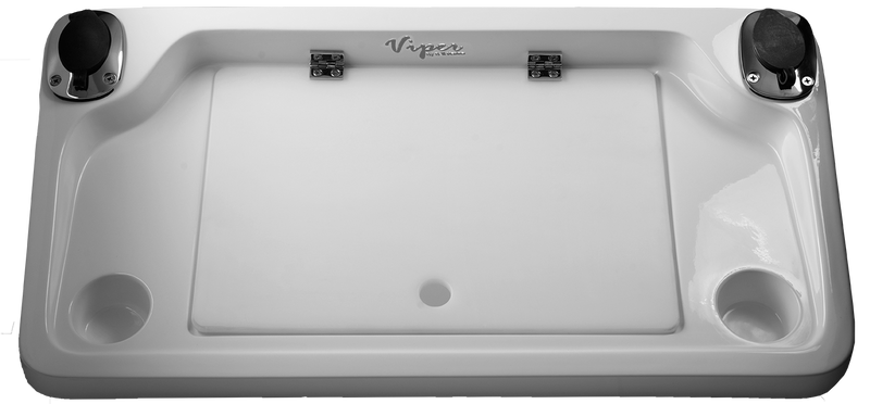 Viper Pro Series Deluxe Fiberglass Removable Bait Board