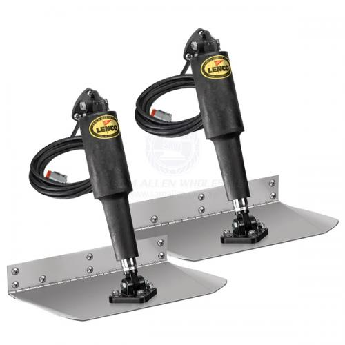 Lenco Trim Tab Standard Mount Kits Without Switch