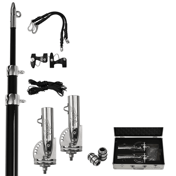 Haines Hunter, Viper Pro Series II Side Mount Telescopic Outrigger Bundle