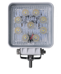 Viper Pro Series 27w Square 9 Led 60 degree Beam Flood Light