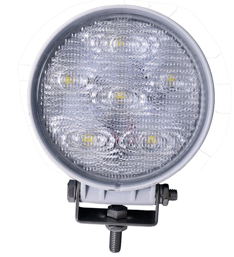Viper Pro Series 18w Round 6 Led 60 degree Beam Flood Light