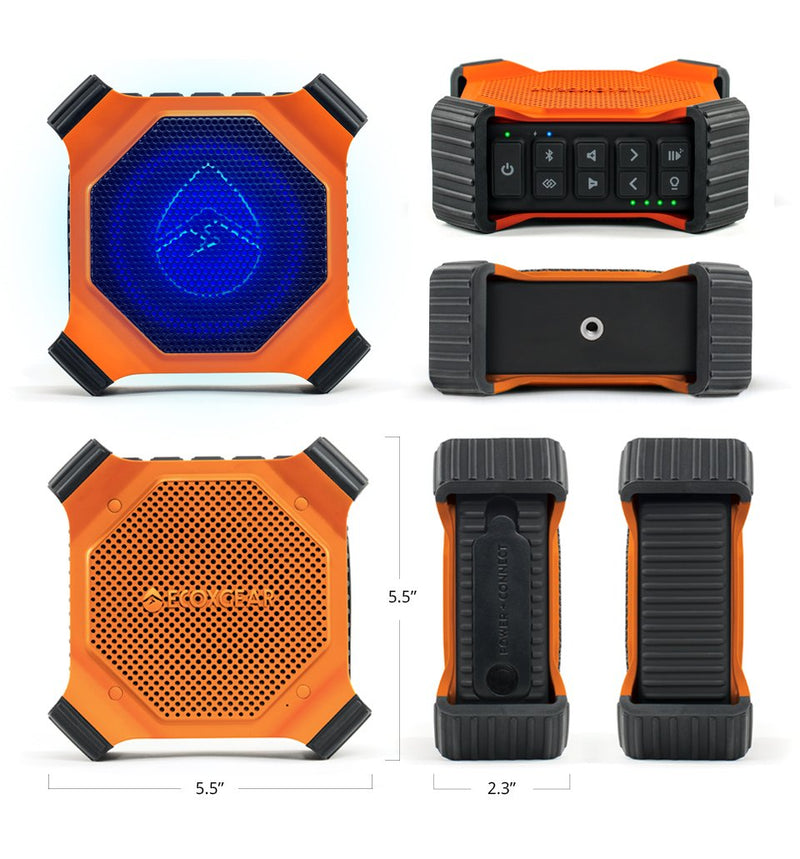 EcoEdge + Waterproof Bluetooth Speaker