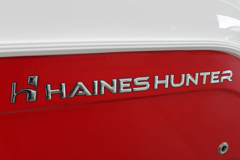Genuine Haines Hunter Limited Chrome Decal Set