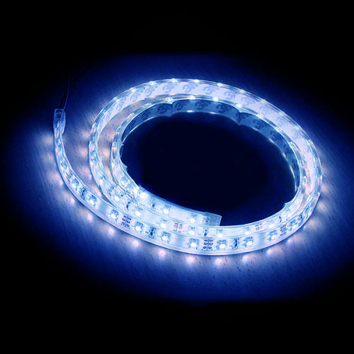 12V LED Flexible Strip Light - Blue - 1m