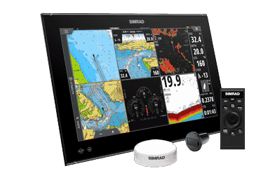 "Simrad NSO EVO3S 19"" System Pack"