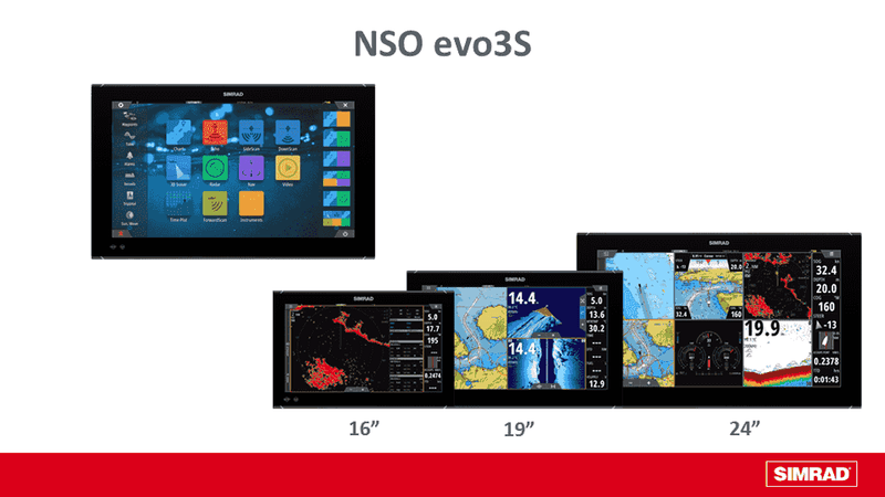"Simrad NSO EVO3S 16"" Display Only"