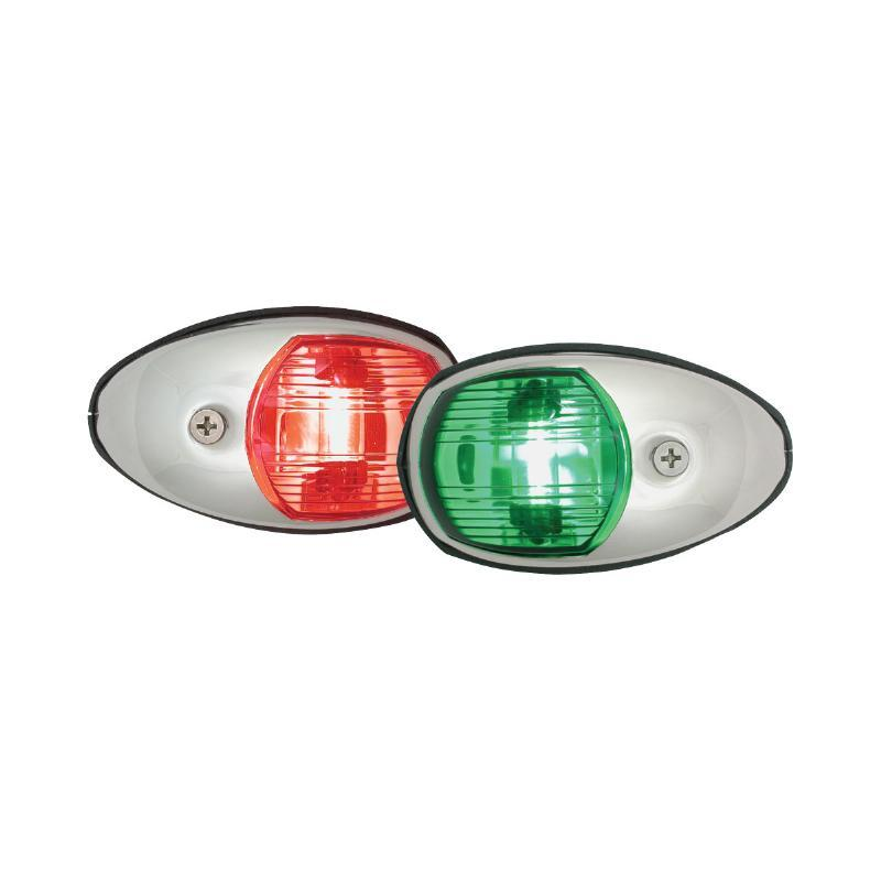 Navigation Lights - Side Mount Stainless Steel (Pair)