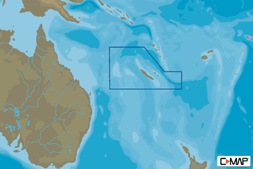 New Caledonia C-MAP MAX-N+ Local Chart