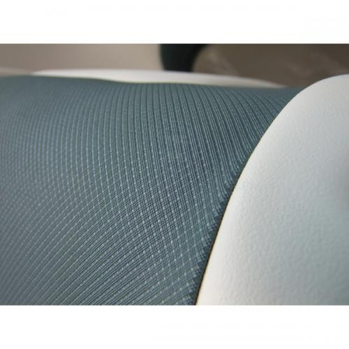 Relaxn Seats - Cruiser Series - High Back White/Dark Grey Fabric