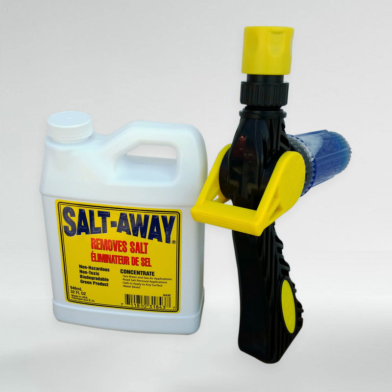 Salt-Away 946ml Starter Kit with A-Salt Mixing Unit by Saltaway
