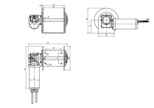 Savwinch 1000 CS Drum Anchor Winch
