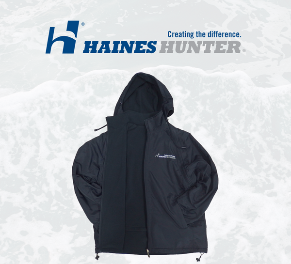 Haines Hunter Fishing Team Reversible Waterproof Jacket/Vest