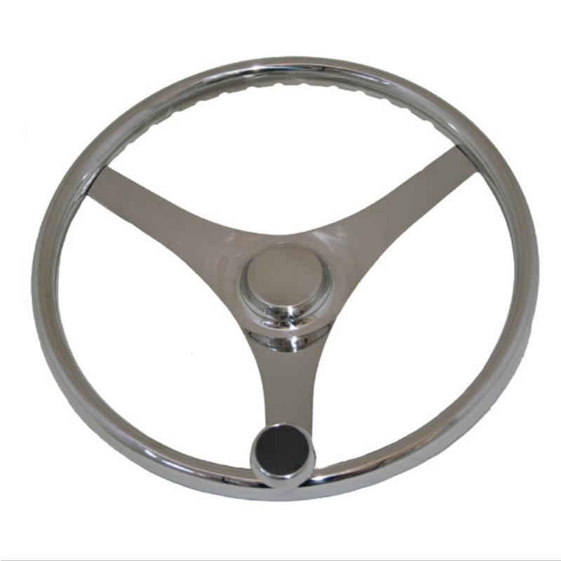 Stainless Steel Sports Wheel with Control Knob