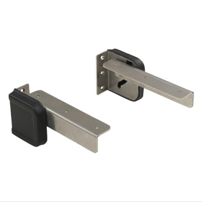 Fold Down Mounting Bracket - Stainless Steel