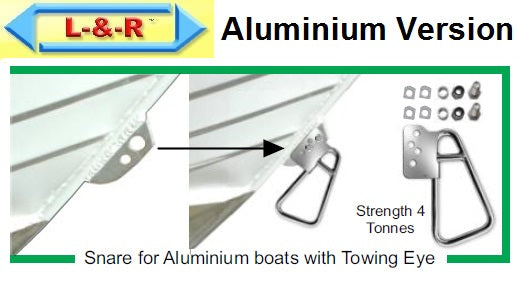 Launch and Retrieve Boat Latch Set - Towing Eye for Aluminium Boats