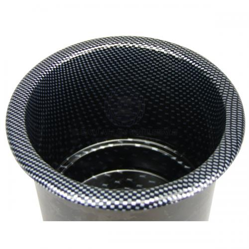 Cup Drink Holder - Stepped Recessed - Carbon Print