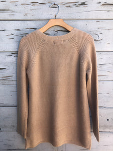 Our Softest Knit Tunic Sweater Beige